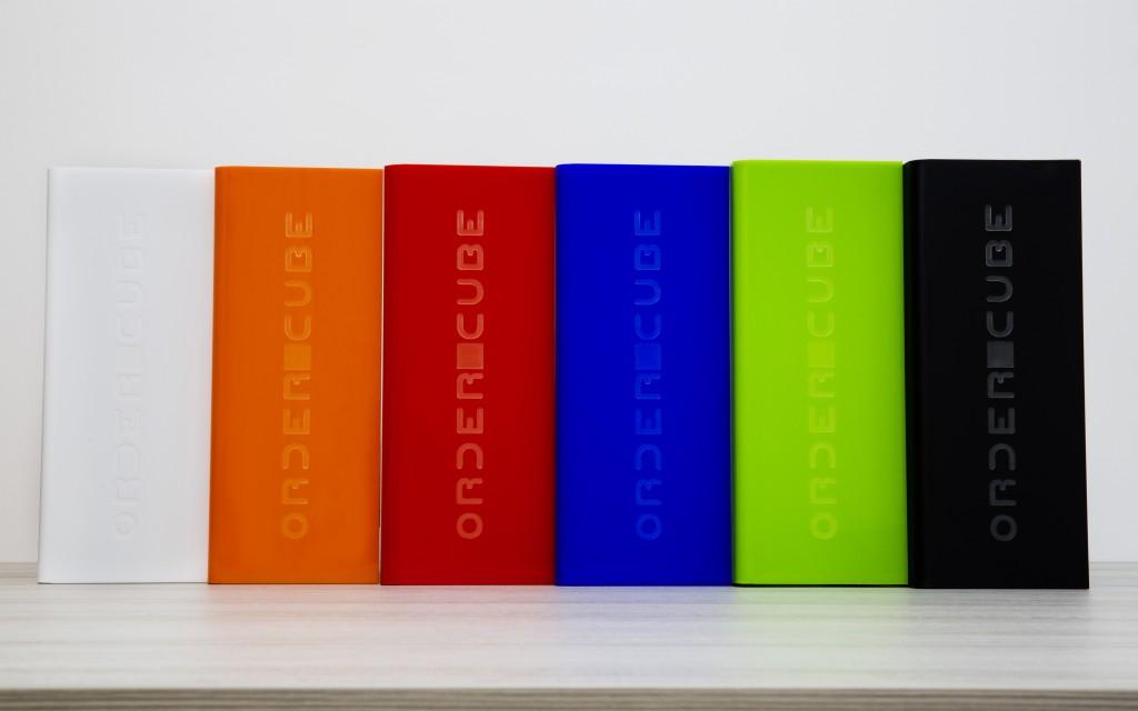Ordercube Farbvarianten
