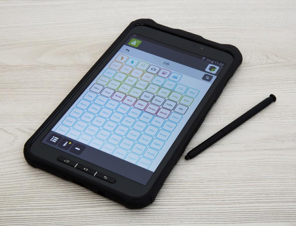 Ordercube Outdoor Tablet