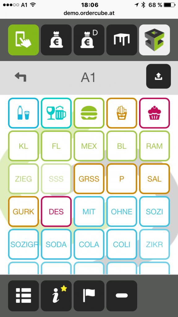 Ordercube Small-Screen Gastro