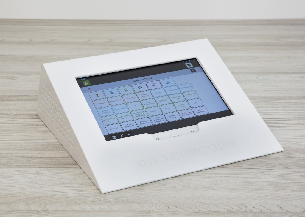 Ordercube Tabletpult Weiss