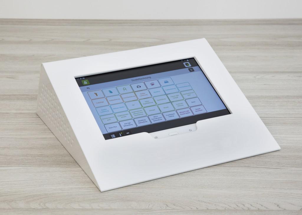 OrderBox Tabletpult Weiß