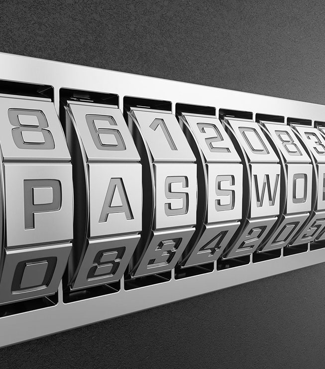 Passworteingabe
